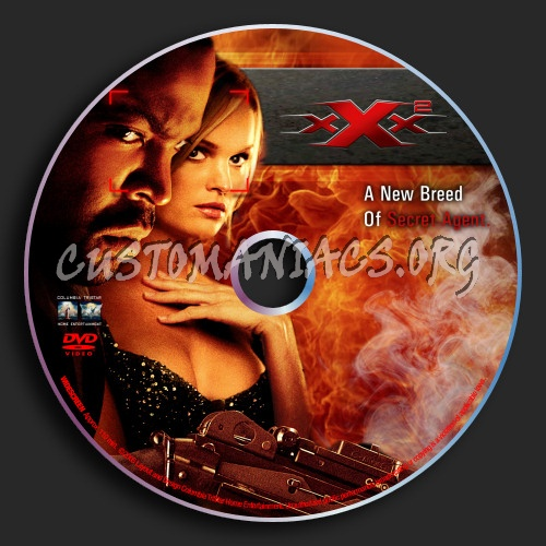 XXX 2 State Of The Union dvd label