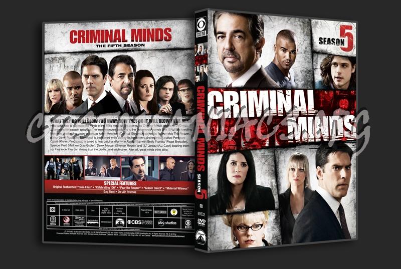 Criminal Minds Season 5 dvd cover