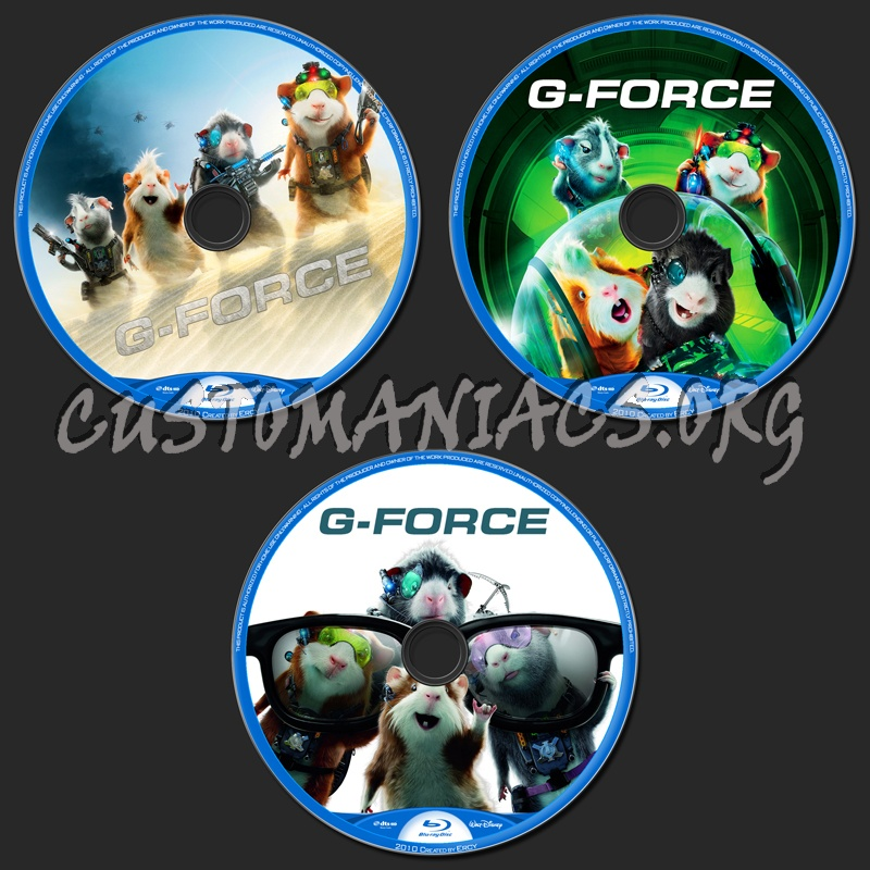G-Force blu-ray label