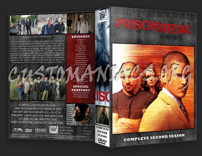 Prison Break Complete Season 1-4 & Movie dvd cover