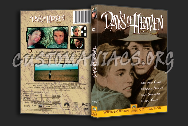 Days of Heaven dvd cover