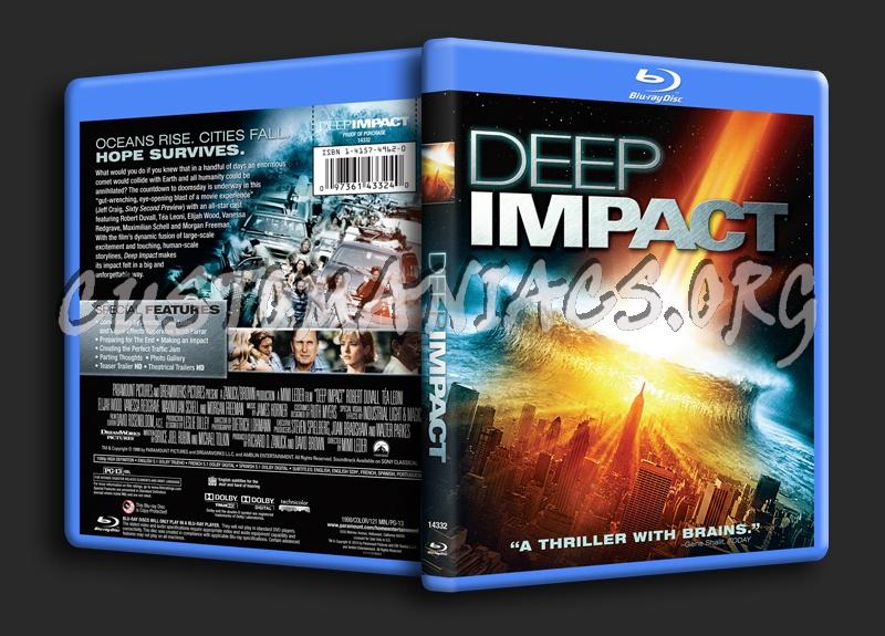 Deep Impact blu-ray cover