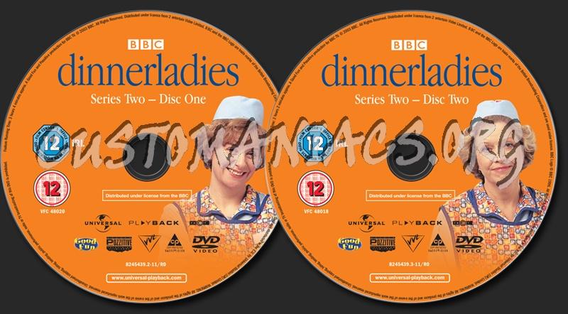 Dinnerladies The Complete Series 2 dvd label