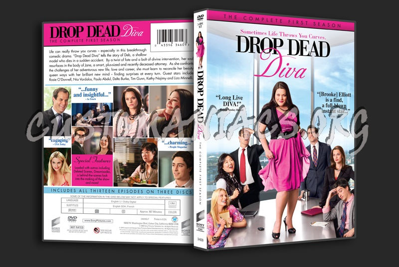 Drop dead diva season 1 dvd cover dvd covers labels by customaniacs id 116871 free - Drop dead diva dvd ...