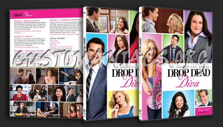 Drop dead diva season 1 dvd covers labels by customaniacs id 116873 free download highres - Drop dead diva dvd ...