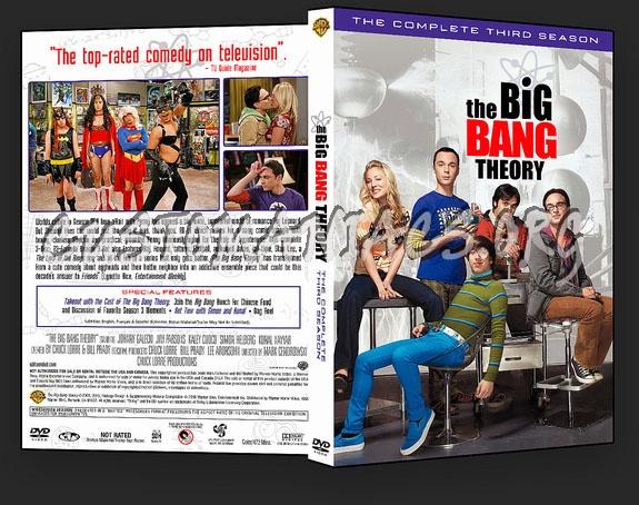 The Big Bang Theory - Season 3 dvd cover