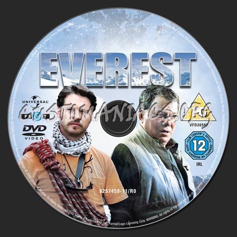 Everest dvd label