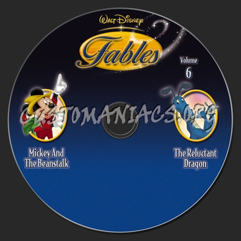 Fables Volume 6 dvd label