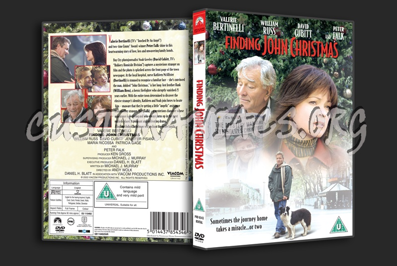 Finding John Christmas.Finding John Christmas Dvd Cover Dvd Covers Labels By