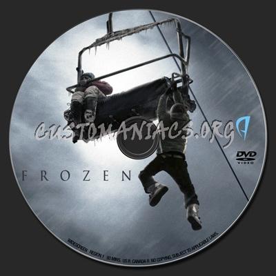 Frozen dvd label