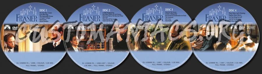 Frasier Season 4 dvd label