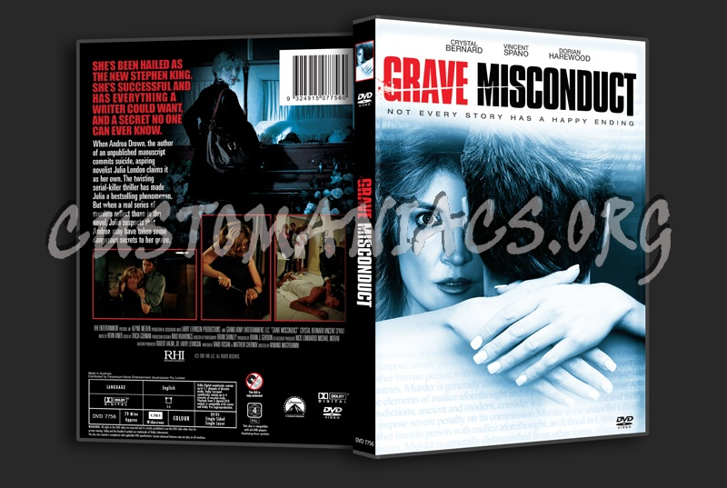 Grave Misconduct dvd cover
