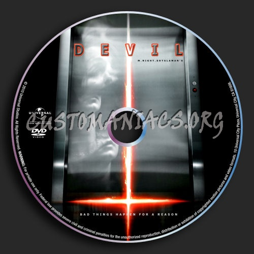Devil dvd label