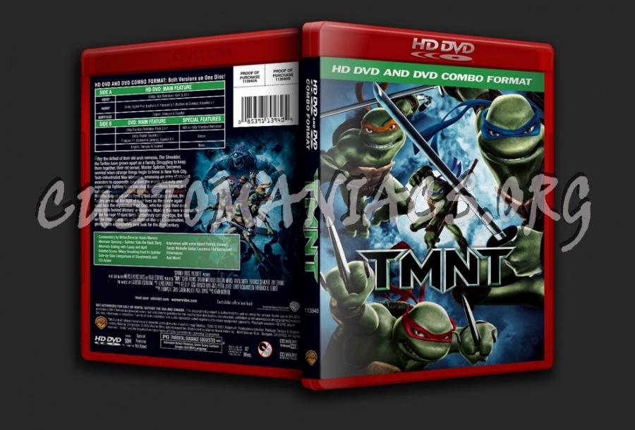 Tmnt dvd cover