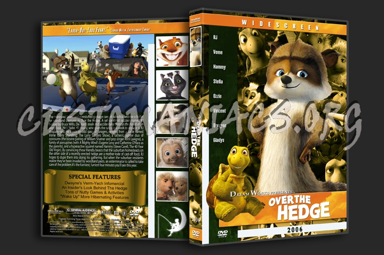 Over The Hedge 2006 Dvd Cover Dvd Covers Labels By Customaniacs Id 117678 Free Download Highres Dvd Cover