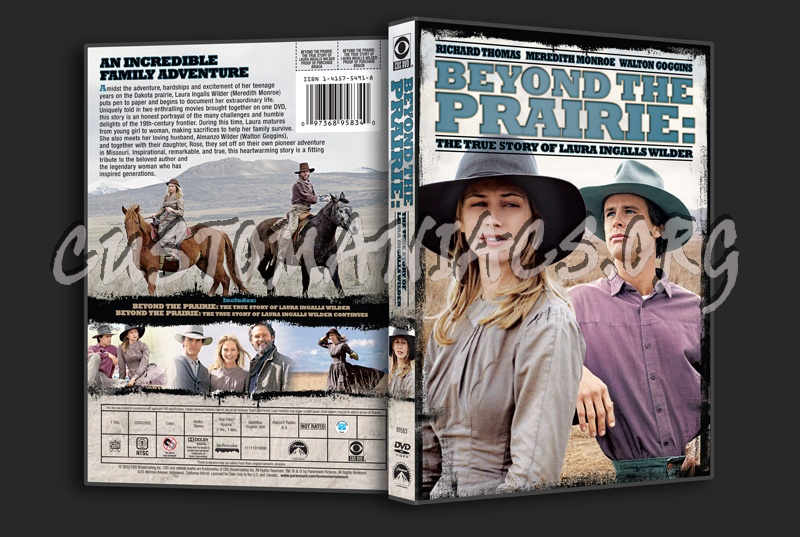 Beyond the Prairie: The True Story of Laura Ingalls Wilder dvd cover