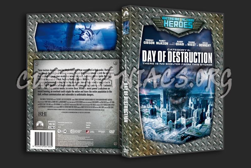 Category 6: Day of Destruction dvd cover