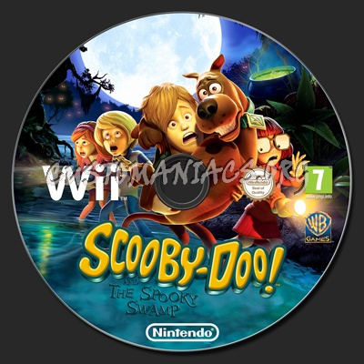 Scooby Doo And The Spooky Swamp Dvd Label Dvd Covers Labels By