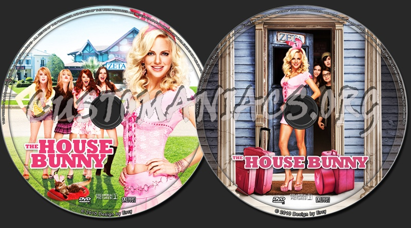 The House Bunny dvd label