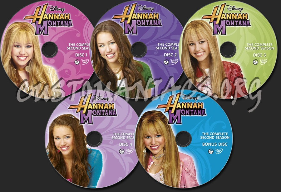 Hannah Montana Season 2 Hannah Montana Season 2 Dvd