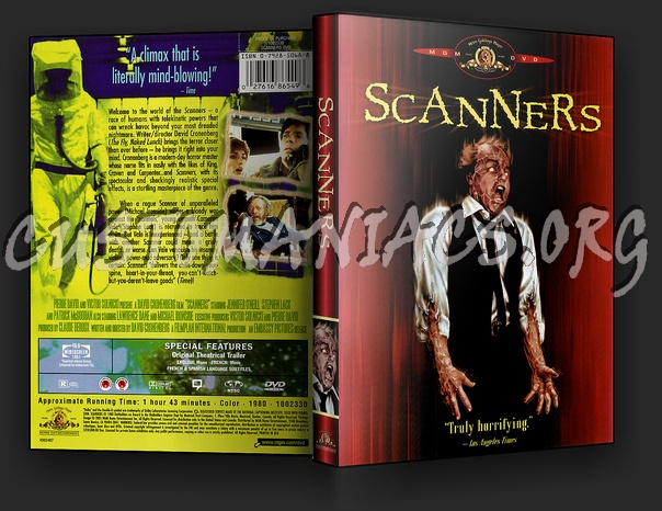Scanners dvd cover