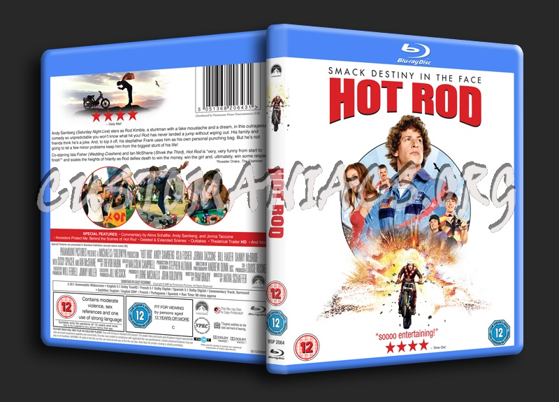 Hot Rod blu-ray cover