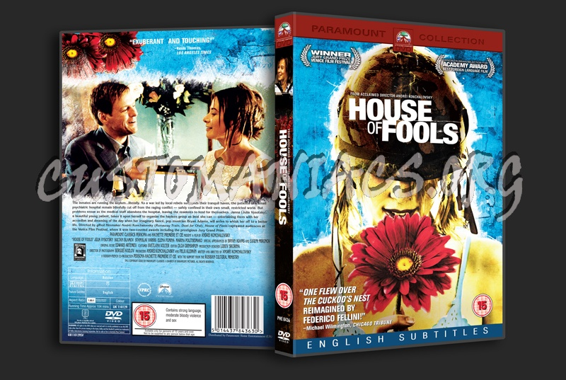 House of Fools dvd cover