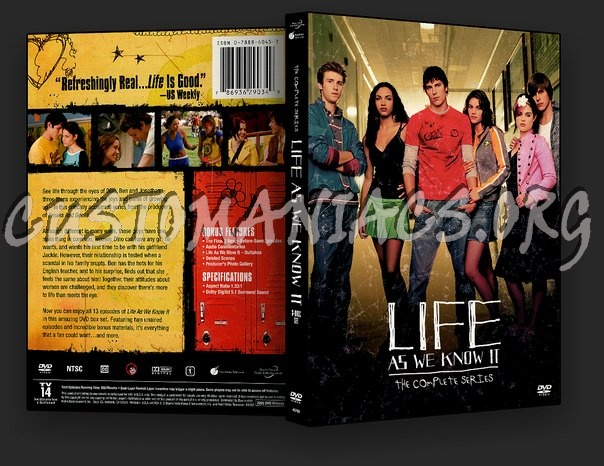 Life As We Know It The Complete Series dvd cover