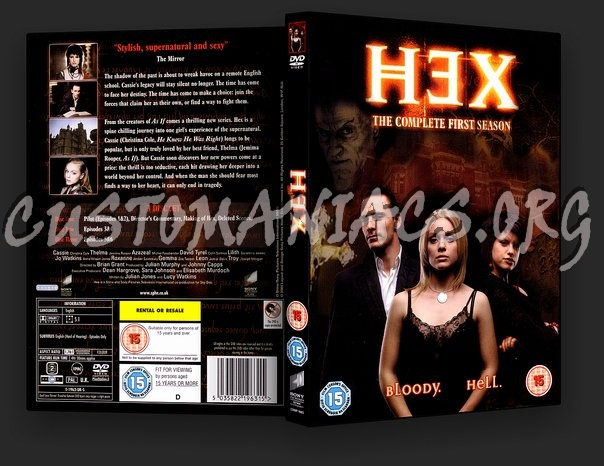 Hex The Complete First Season dvd cover