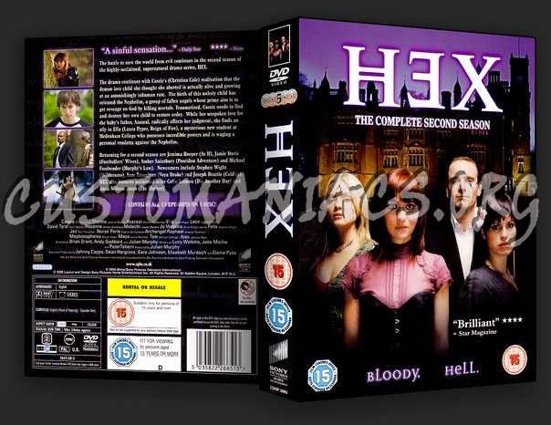 Hex The Complete Second Season dvd cover