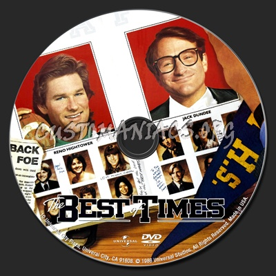 The Best Of Times dvd label