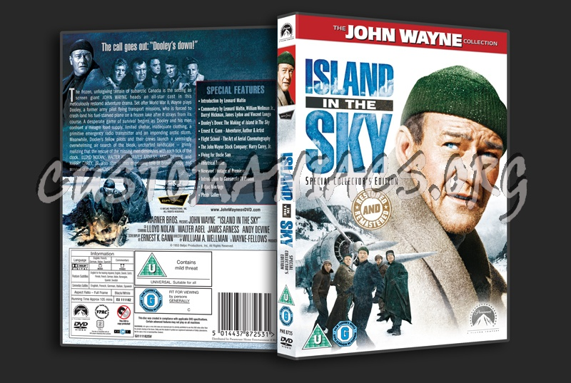 Island in the Sky dvd cover