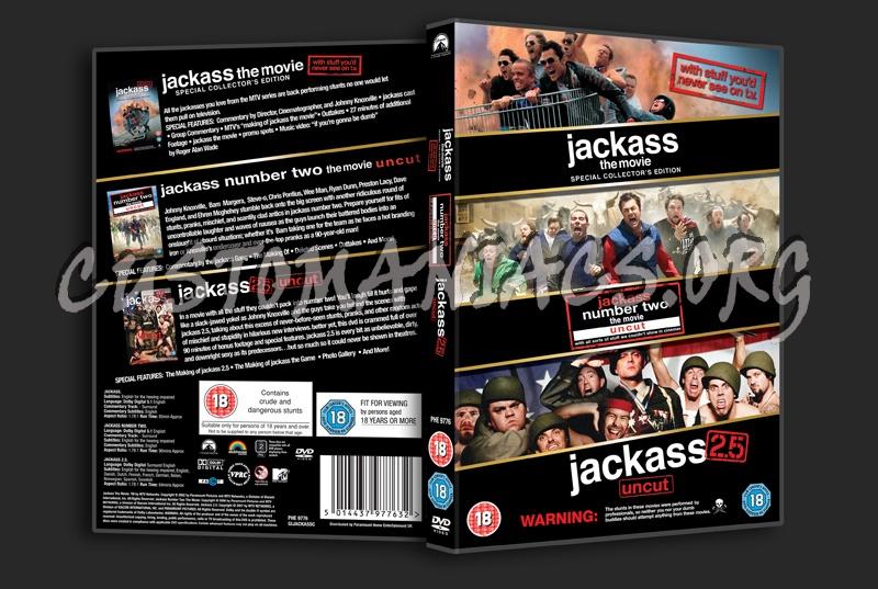 Jackass / Jackass 2 / Jackass 2.5 dvd cover