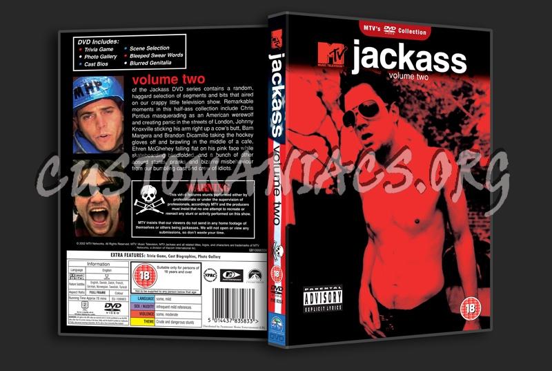 Jackass Volume 2 dvd cover
