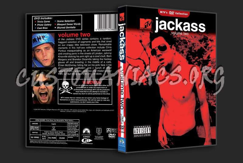 Jackass - Volume 2 dvd cover