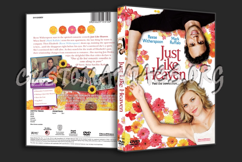 Just Like Heaven dvd cover