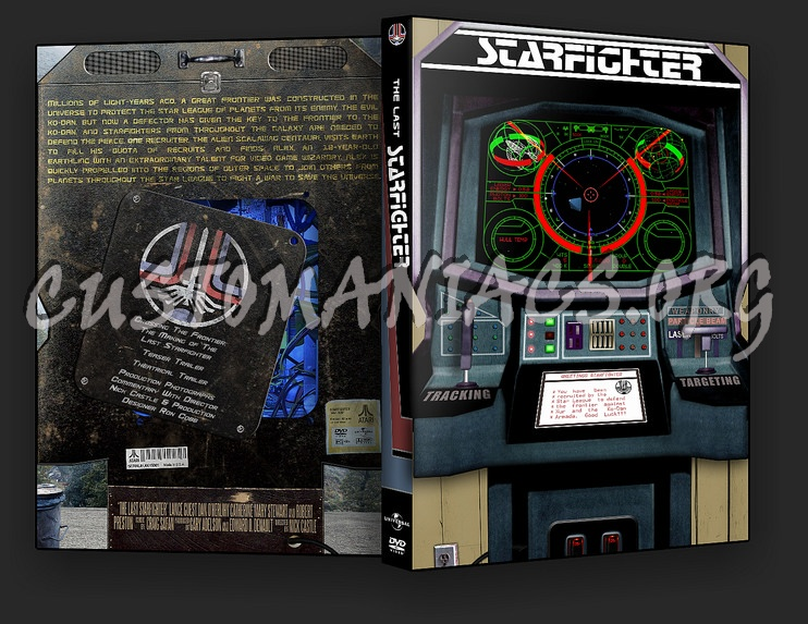 The Last Starfighter dvd cover