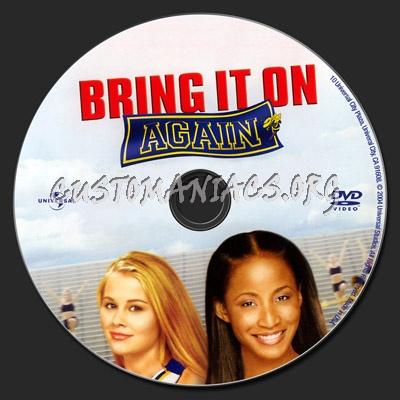 Bring It On Again dvd label