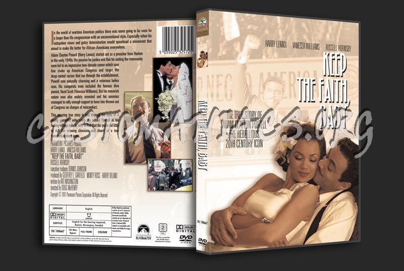 Keep the Faith, Baby dvd cover