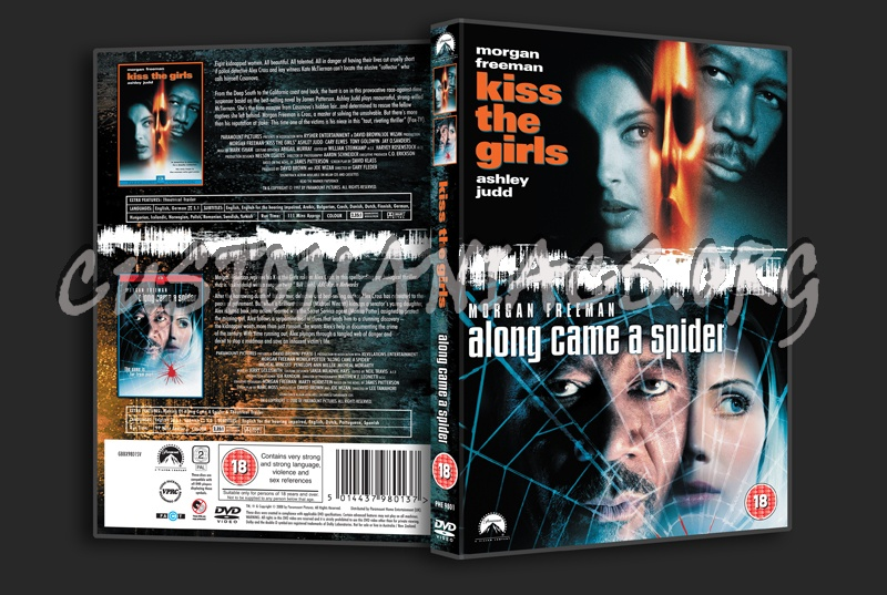 Kiss the Girls / Along Came A Spider dvd cover