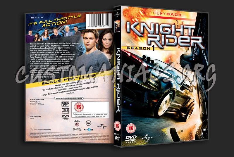 Knight Rider (2008) Season 1 dvd cover - DVD Covers & Labels