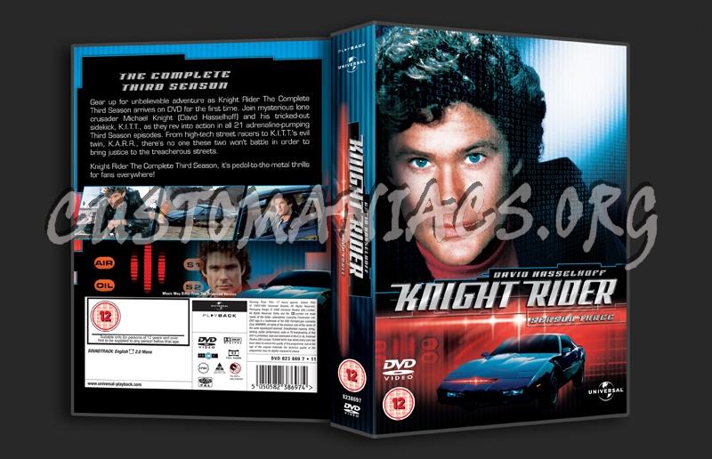 Knight Rider Dvd Cover Knight Rider Season 3 Dvd