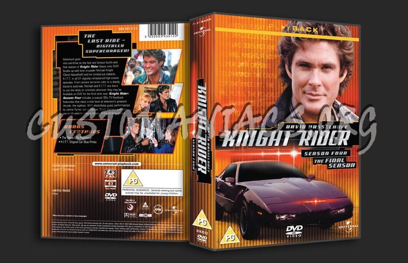 Knight Rider Dvd Cover Knight Rider Season 4 Dvd