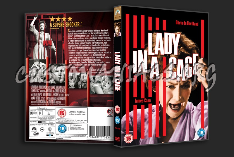 Lady In A Cage dvd cover