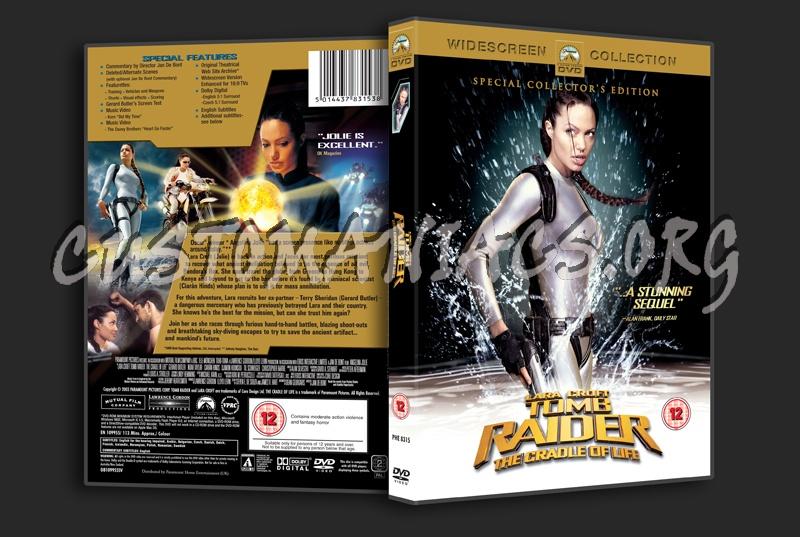Lara Croft Tomb Raider: The Cradle of Life dvd cover - DVD ...