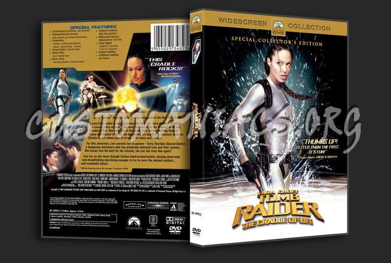 Lara Croft Tomb Raider The Cradle Of Life Dvd Cover Dvd