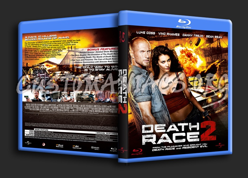 Death Race 2 blu-ray cover