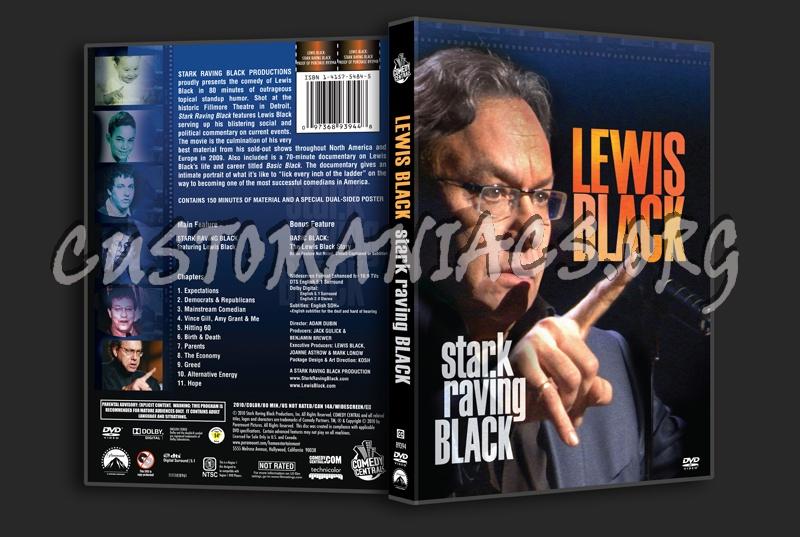 Lewis Black Stark Raving Black dvd cover