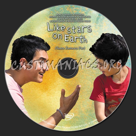Like Stars on Earth dvd label - DVD Covers & Labels by ...