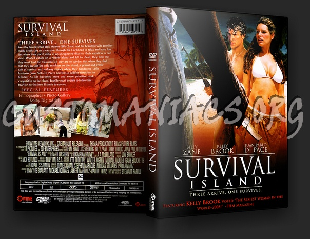 Survival Island dvd cover